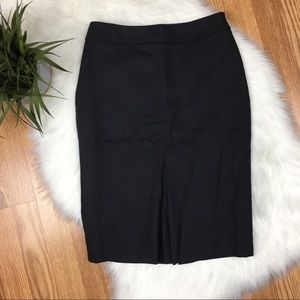 BODEN Grey Lined Pencil Skirt Size US 2R